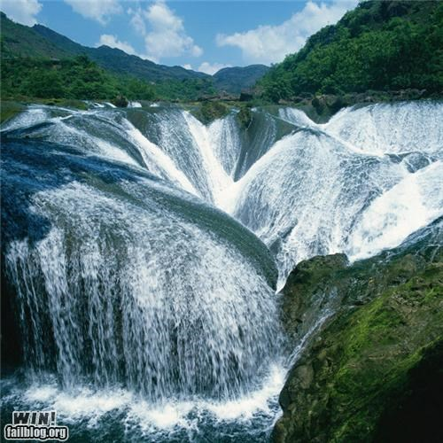Cascade China mother nature ftw river waterfall - 5297190656