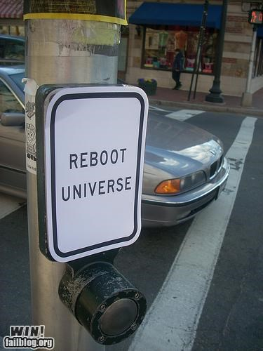 button,cosmic,crosswalk,hacked irl,reboot,space,traffic light,traffic stop,universe
