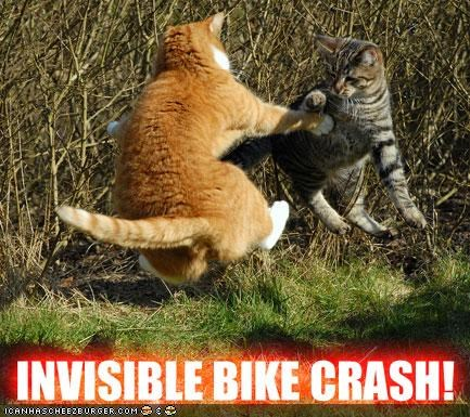 accidents bicycles bikes classics crash fields fighting invisible outdoors