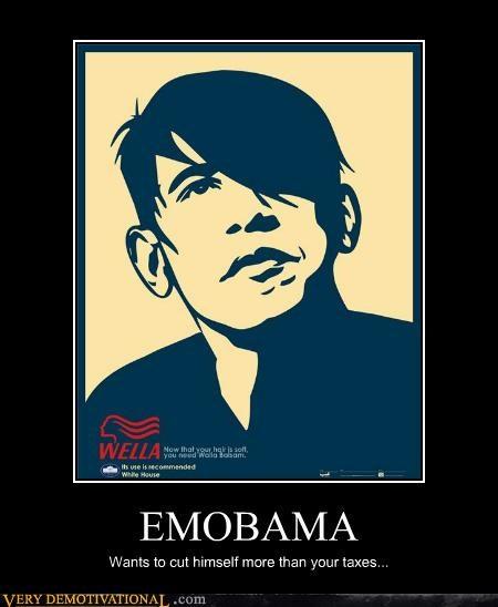 emo emolulz obama taxes tears - 5297562368