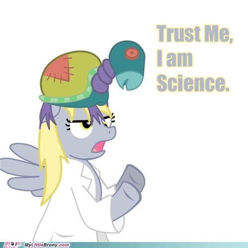 derpy hooves,ponies,science,trust me,twilight sparkle