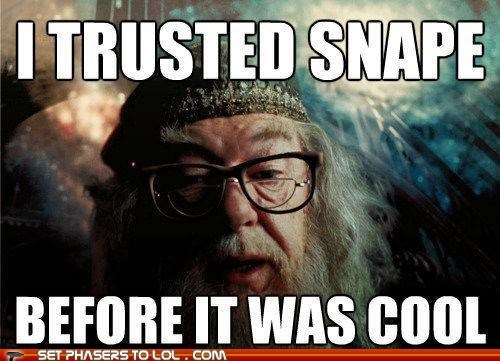 dumbledore Harry Potter hipster Michael Gambon snape - 5297973248