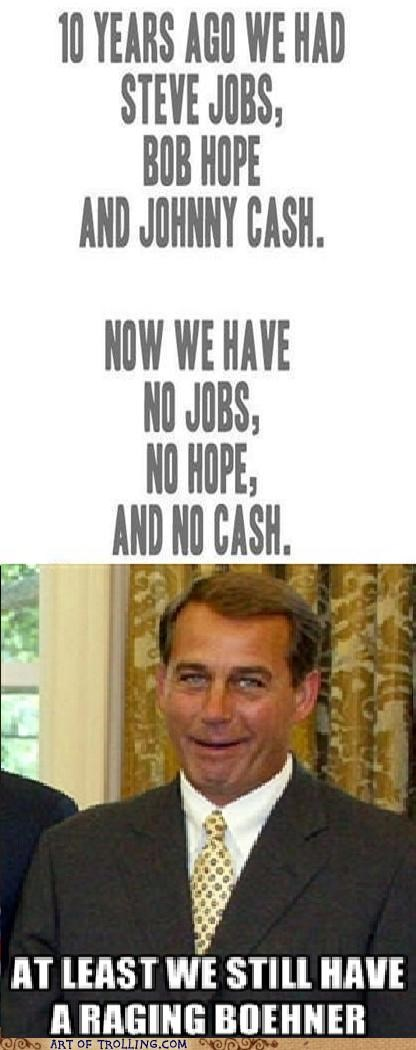 bob hope,john boehner,johnny cash,rip,steve jobs
