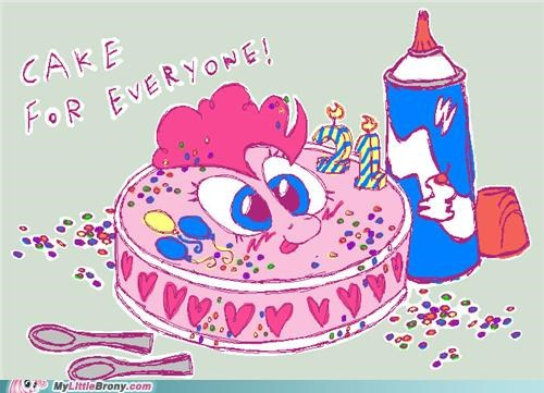 birthday brony cake for everyone one year old pinkie pie TV - 5298940672