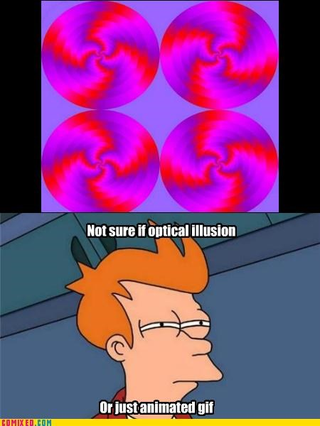 fry meme gifs meme optical illusion senorgif the internets