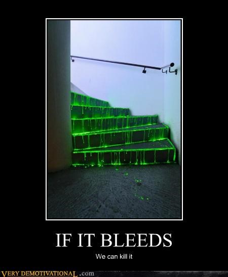 Blood green hilarious horror stairs - 5299255296