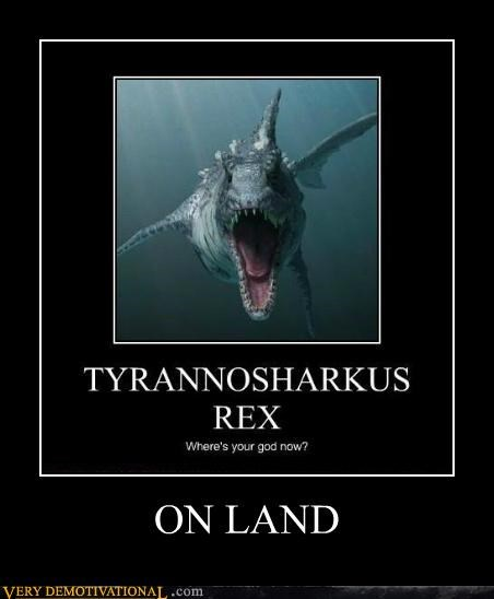 god hilarious land shark tyrannasaurus rex - 5299342336