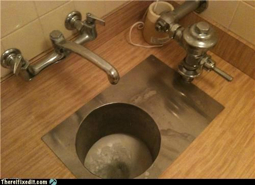 bathroom,kitchen,plumbing,sink,toilet,wtf