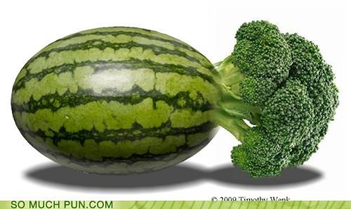 broccoli homophones juxtaposition literalism melancholy melon prefix suffix watermelon - 5299496192