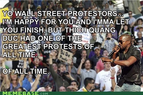 imma let you finish interruption kayne Memes Occupy Wall Street