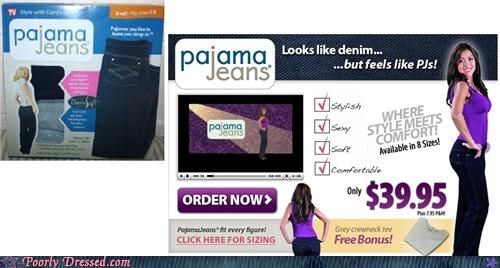 amazing new trend not jeans pajama jeans - 5300196352