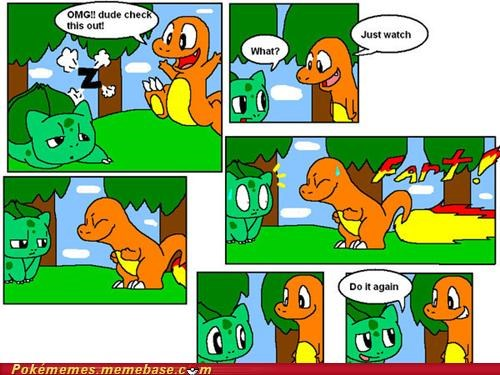 best of week bulbasaur charmander check it out comic evolving fart maturity - 5300212224