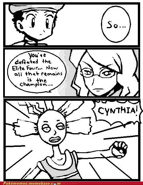 best of week comic cynthia elite four Pokémon - 5300248320