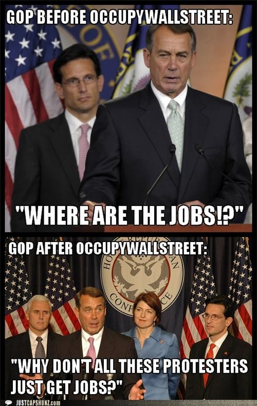 GOP BEFORE OCCUPYWALLSTREET