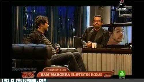 Bam Margera chris pontius jackass mtv TV tv bomb - 5300530944