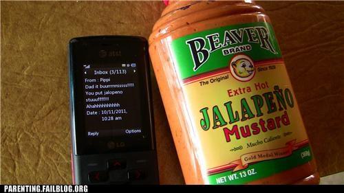 dad food it burns lunch Parenting Fail prank sandwich school spicy troll dad - 5300609280