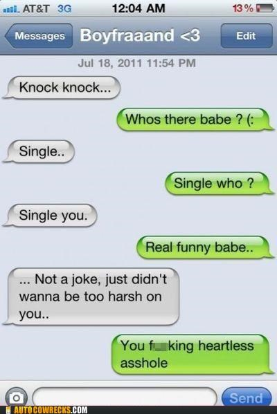 breaking up knock knock joke relationships single - 5300622080