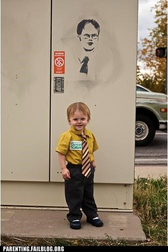 costume dwight schrute halloween meme Parenting Fail parenting WIN pop culture television the office - 5300711680