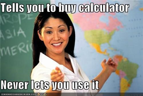 buy calculator Sad Terrible Teacher use - 5301160704
