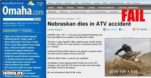 ad placement,atv,failboat,g rated,juxtaposition,unfortunate