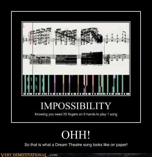 Dream Theater hilarious Music shet music - 5302432768