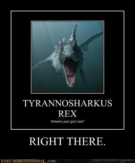 god,Pure Awesome,right there,shark,tyrannasaurus rex