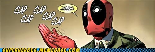 awesome clap deadpool Straight off the Page suit - 5302619136