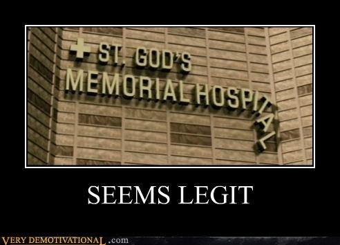 hilarious,hospital,letters,seems legit
