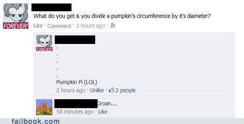 iseewhatyoudidthere jokes math pi pumpkin pie puns - 5302955008