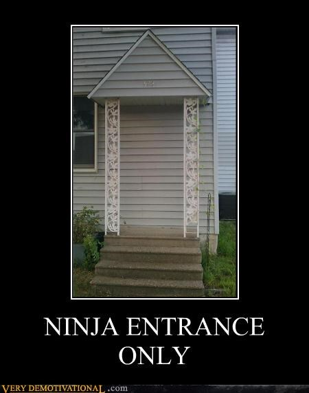 entrance hilarious house ninja steps - 5302962944