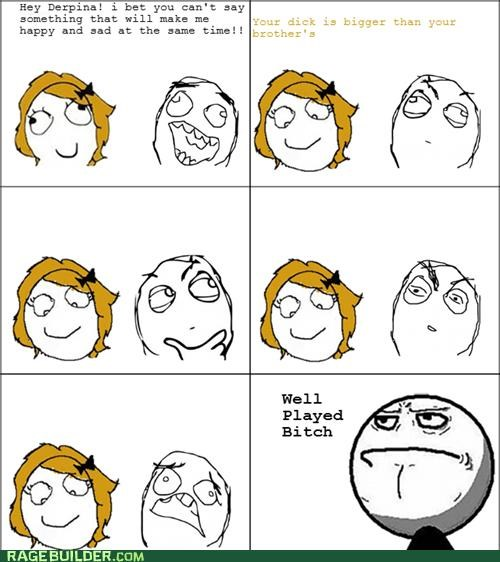 Awkward,happy,Rage Comics,Sad
