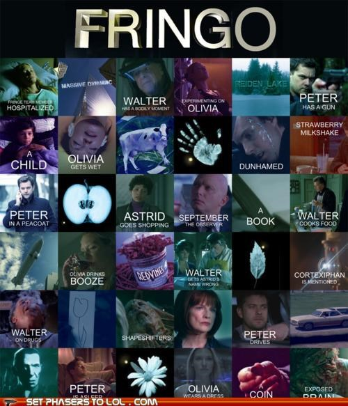 bingo drinking games Fringe Fringe Friday fringo whee - 5303472384
