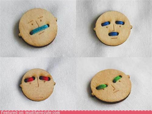 button expressions faces men thread - 5303685120