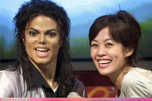 around the interwebs michael jackson wax figure - 5303695360