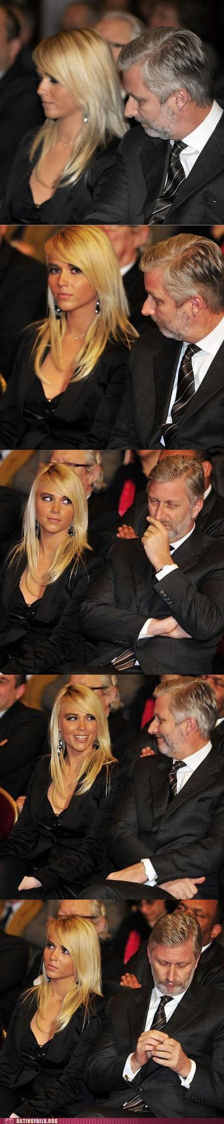 cleavage ogling prince laurent skeeze Staring We Are Dating - 5303702272