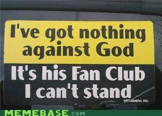fan god IRL religion sticker - 5303779072