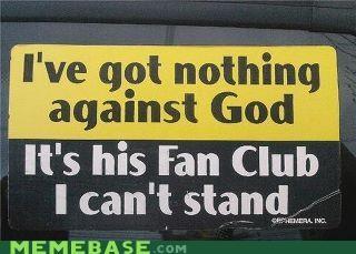 fan god IRL religion sticker - 5303779072