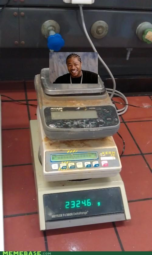 balance,Inception,scale,weight,yo dawg