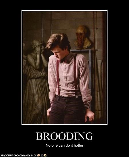 brooding doctor who Matt Smith Sad the doctor - 5303867392