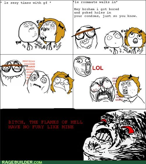 condoms,Rage Comics,roommate,sexytimes