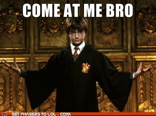 come at me bro,Daniel Radcliffe,harry,Harry Potter