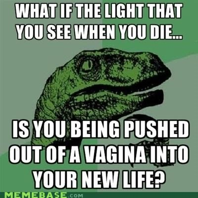 birth gross Inception life light philosoraptor