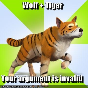 tiger wolf your argument is invalid - 5304902400