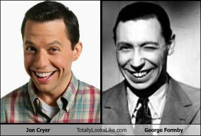 Jon Cryer Totally Looks Like George Formby