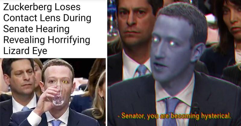 Memes robots facebook lizard Mark Zuckerberg - 5305861
