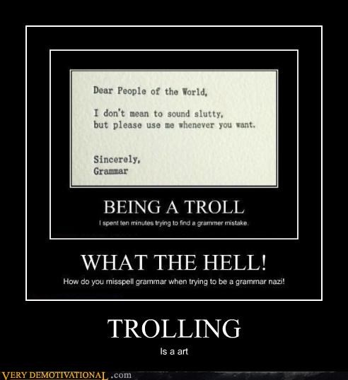 art hilarious trolling