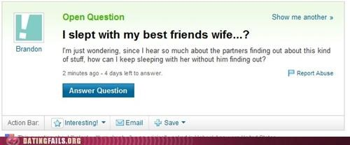 affair,cheating,marriage,We Are Dating,wife,yahoo answers