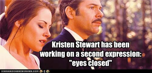 breaking dawn expression eyes closed kristen stewart twilight - 5306546176