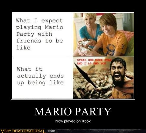 angry,hilarious,mario party,sparta