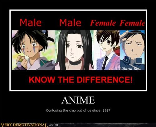 anime female hilarious male